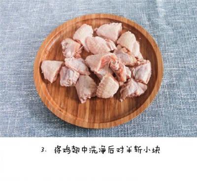 香菇烧鸡翅 味道十分鲜美!